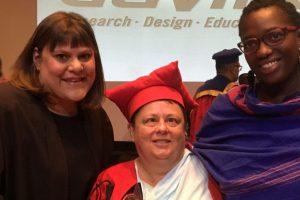 Jean Parker wins Natalie Du Toit Award for her work on Integral Community Based Learning for Emergency Preparedness