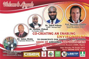 BIG VIVA: Jubril Adeojo's Collective PHD Presentation took place in Nigeria's Ajegunle Community