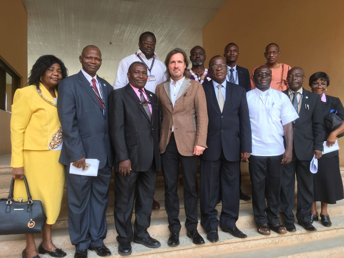 2017 10 11 Nigeria Edo SAU University VC Faculty Anselm