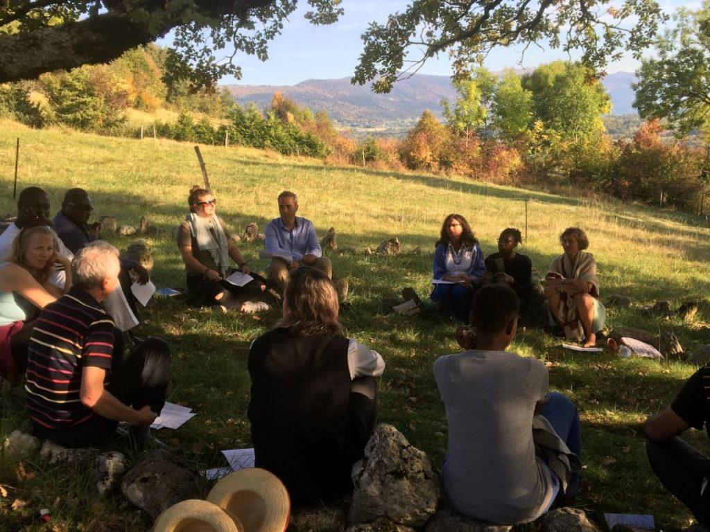 2017 10 Induction PhD PHD Hotonnes Cohort 6 Group 3 Oak Tree