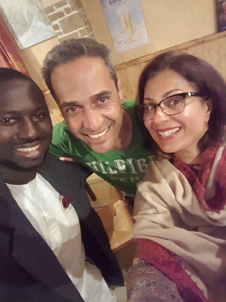 2017 10 Induction PhD PHD Hotonnes Cohort 6 Group Aneeqa Faraj Akeem