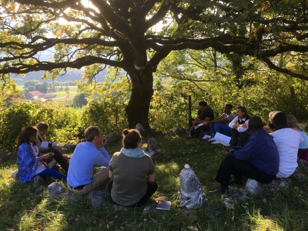 2017 10 Induction PhD PHD Hotonnes Cohort 6 Group Oak Session