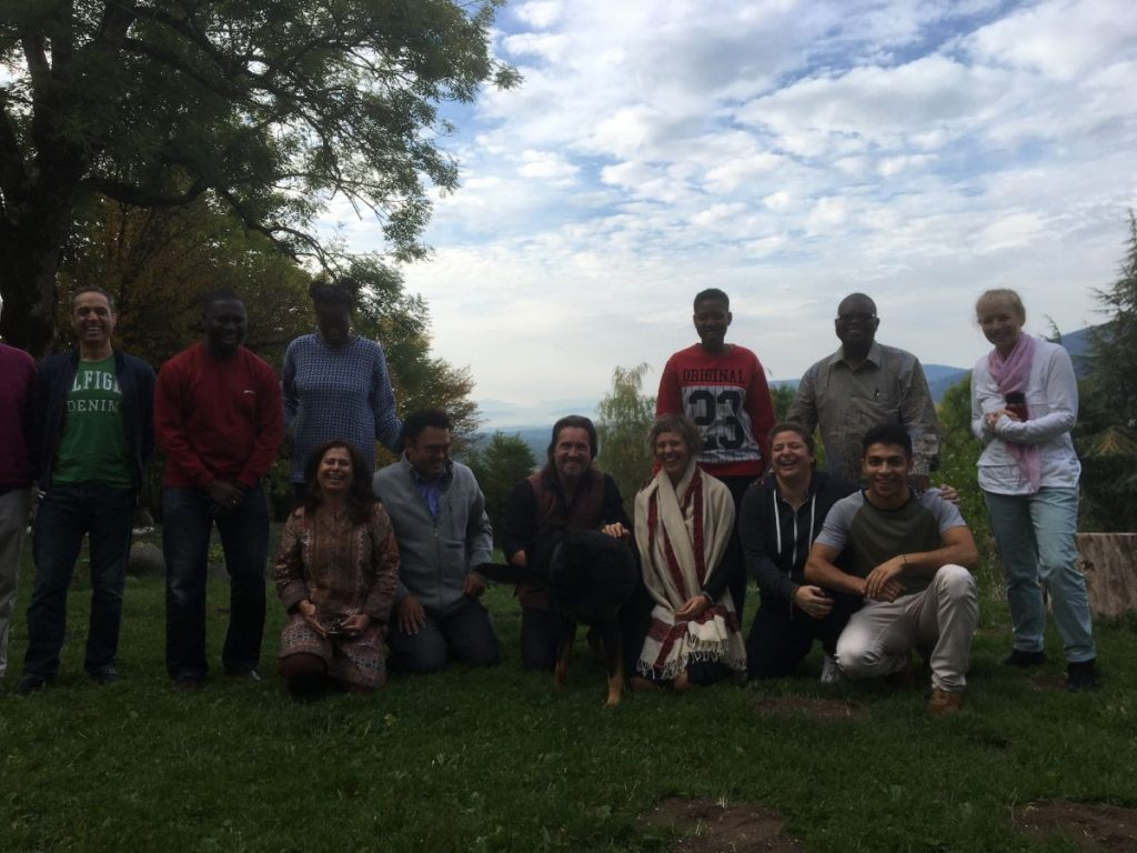 2017 10 Induction PhD PHD Hotonnes Cohort 6 Group Outdoor