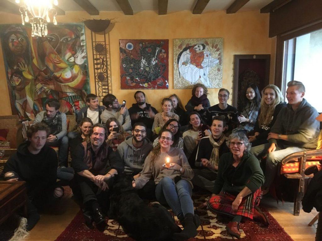 2017 11 05 Hotonnes TA Course Group With Veronique Sezanov