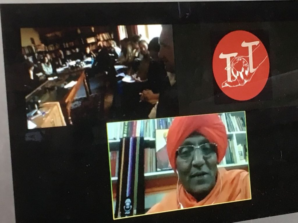 2017 11 05 Hotonnes TA Course St. Gallen With Swami Agnivesh