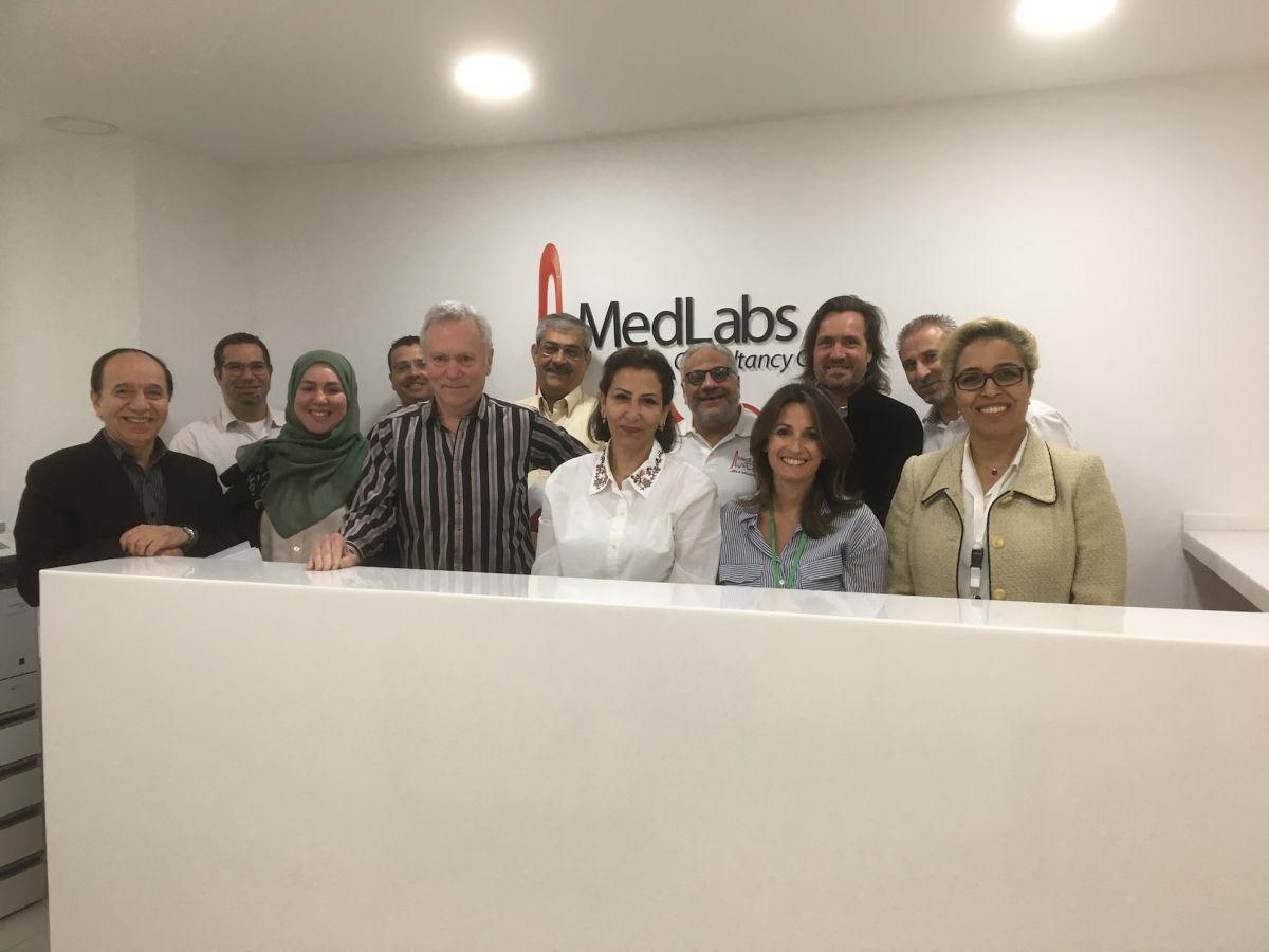 2017 11 11 Amman Medlabs Workshop Group Picture