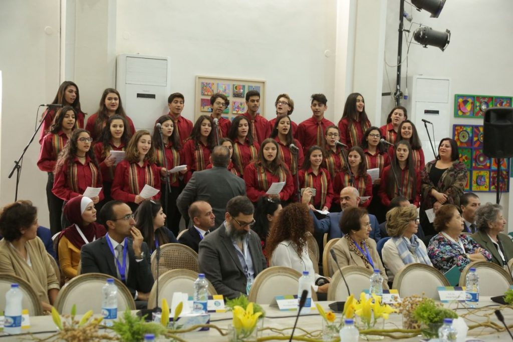 2017 11 18 Amman ASG Integral Education Roundtable 1 Choir