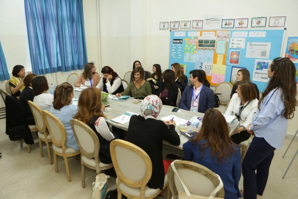 2017 11 18 Amman ASG Integral Education Roundtable 26 with Facilitator Zina Khoury 1