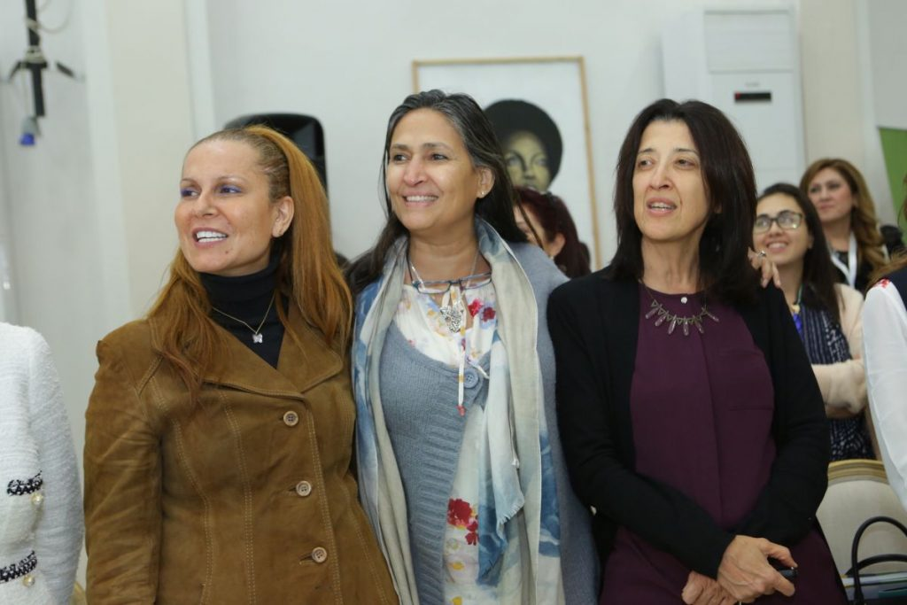 2017 11 18 Amman ASG Integral Education Roundtable 35 with Wafa Al Khadra Samar Dudin Nasrin