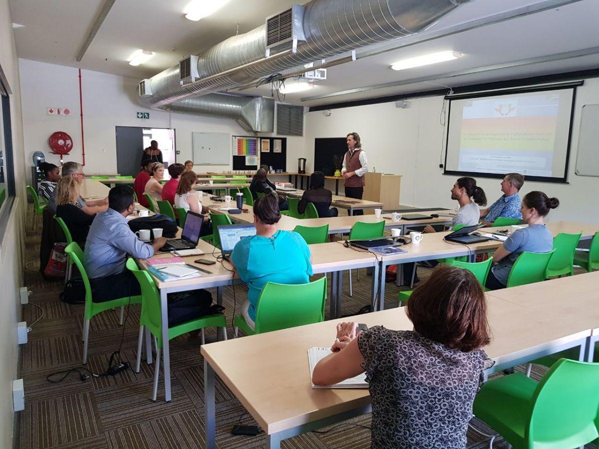 2018 03 16 University Johannesburg Integral Workshop Audience 2