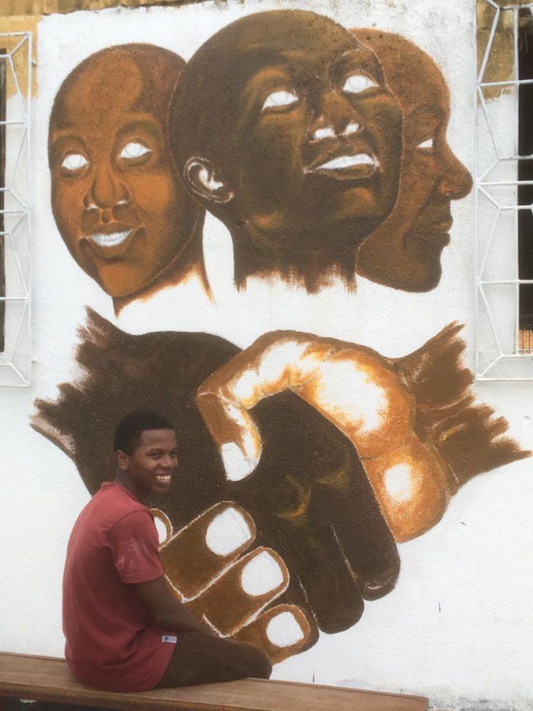 2018 03 18 Tanzania Kigamboni KCC Artist