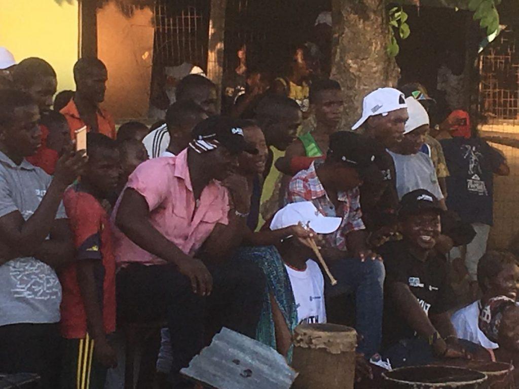 2018 03 18 Tanzania Kigamboni KCC Performance Drummers 1