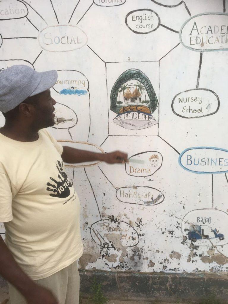 2018 03 18 Tanzania Kigamboni KCC Rashidi KCC Structure