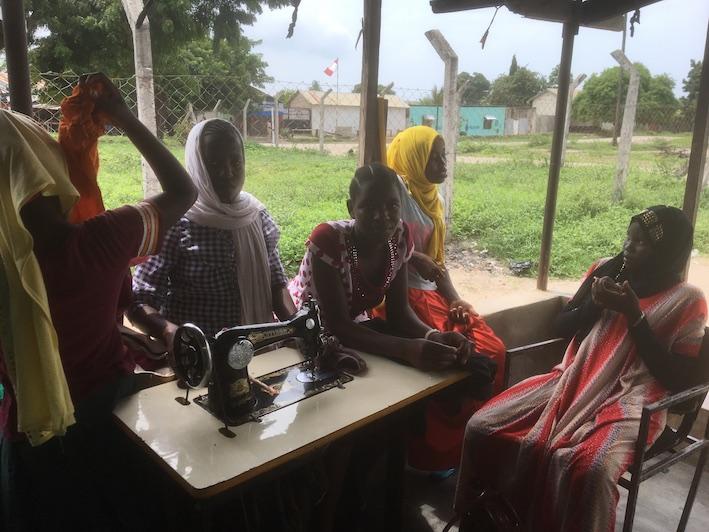 2018 03 18 Tanzania Kigamboni KCC Sewing Class 1