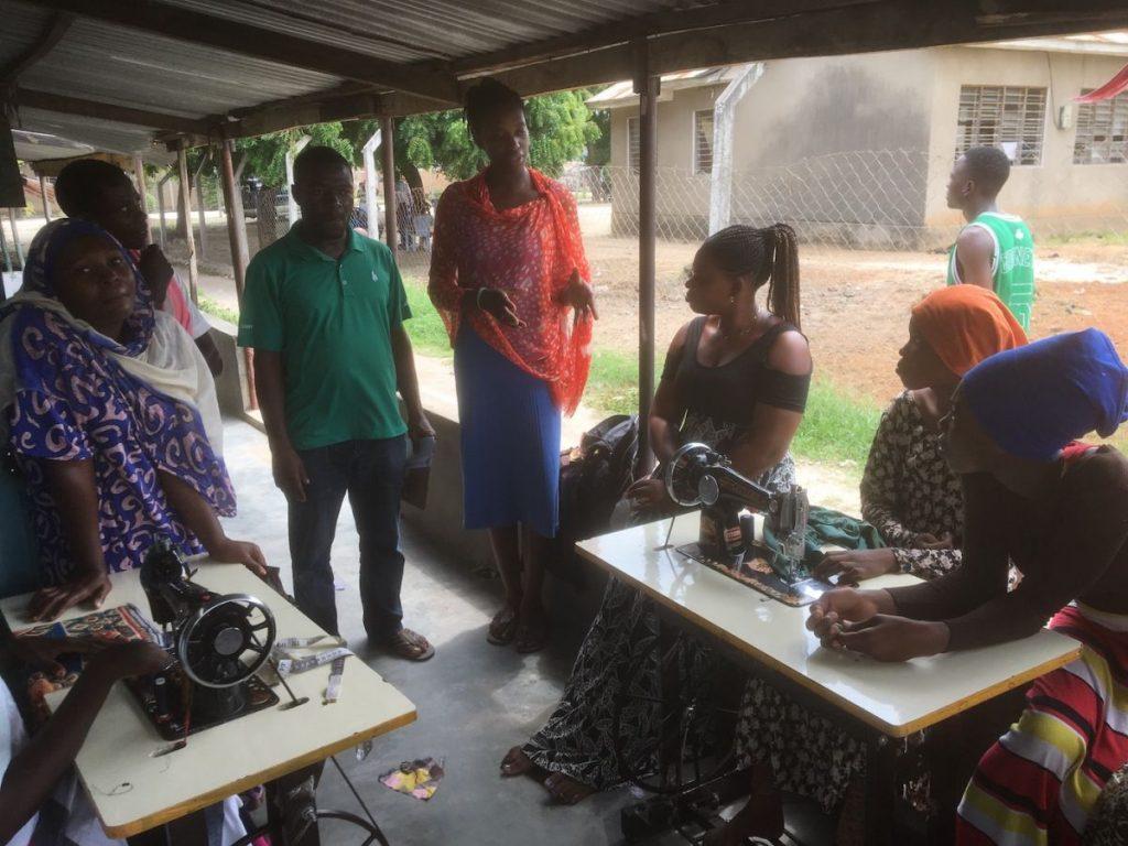 2018 03 18 Tanzania Kigamboni KCC Sewing Class 3
