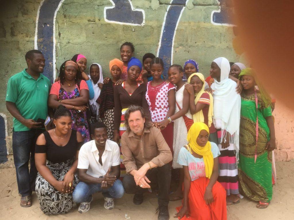 2018 03 18 Tanzania Kigamboni KCC Sewing Class Group Pic 1
