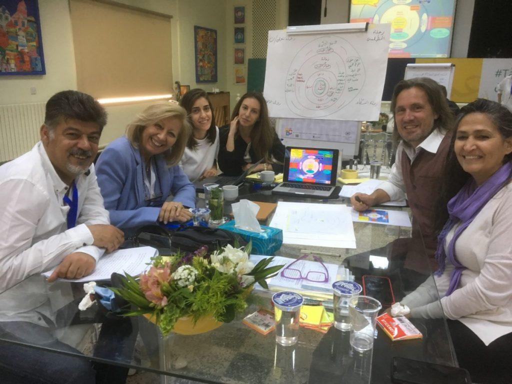 2018 05 09 Jordan Tanweer Small Group Enlightened Humanism Haifa Samar Alexander 1