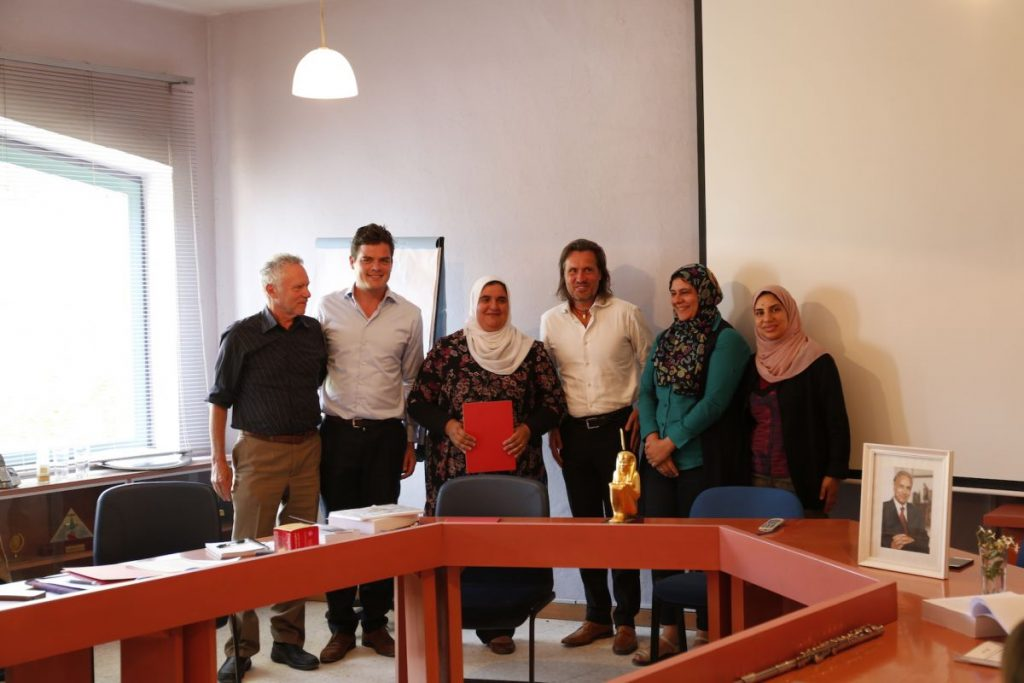 2018 06 05 Max Abouleish Community Vivia PHD Award Sustainability Team