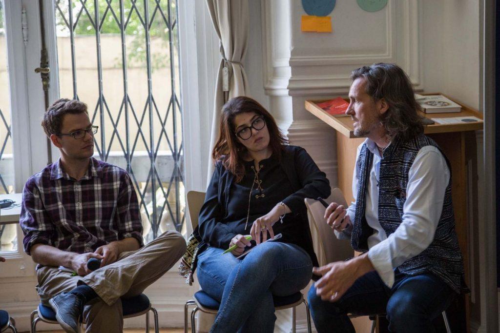2018 06 08 Cairo Goethe Tahrir Lounge Workshop Alexander Mona Silvan