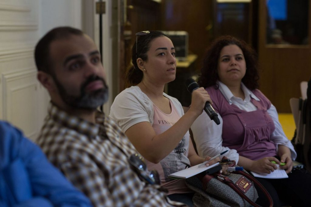 2018 06 08 Cairo Goethe Tahrir Lounge Workshop Audience 6