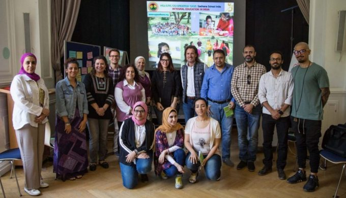 2018 06 08 Cairo Goethe Tahrir Lounge Workshop Group Pic 1