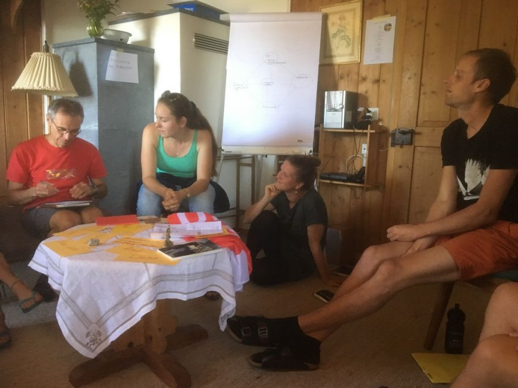 2018 06 18 Switzerland Beatenberg Education Retreat Group Work 2