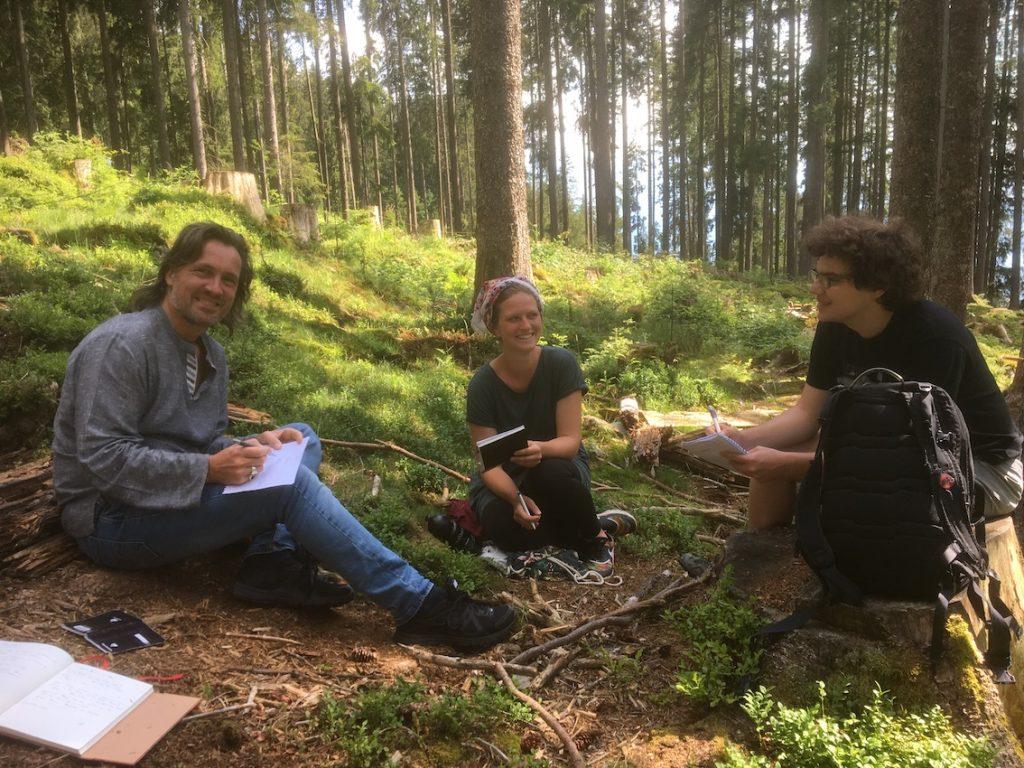 2018 06 18 Switzerland Beatenberg Education Retreat Outdoor Work 1