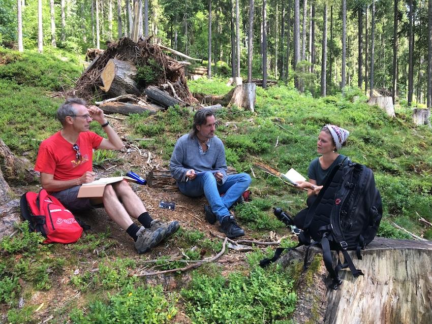 2018 06 18 Switzerland Beatenberg Education Retreat Outdoor Work THomas Alexander Jana