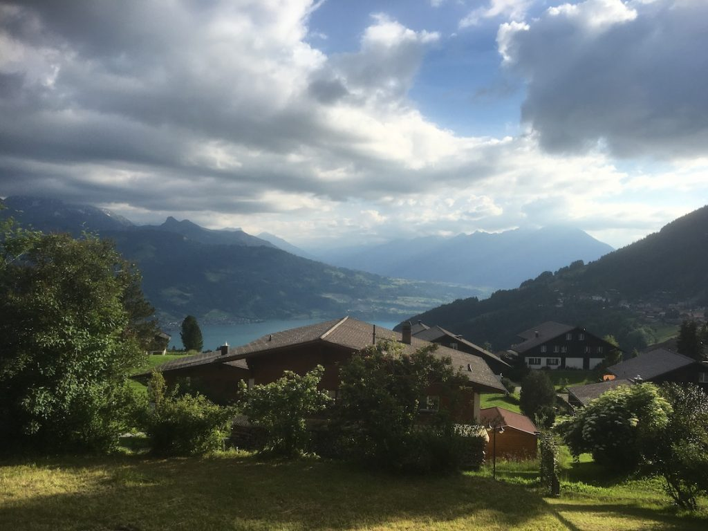 2018 06 18 Switzerland Beatenberg Education Retreat Panorama 2