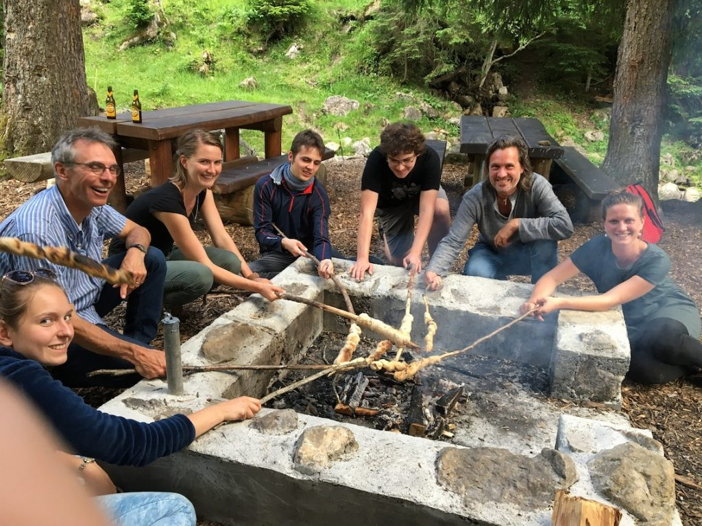2018 06 18 Switzerland Beatenberg Education Retreat Sharing Food 4