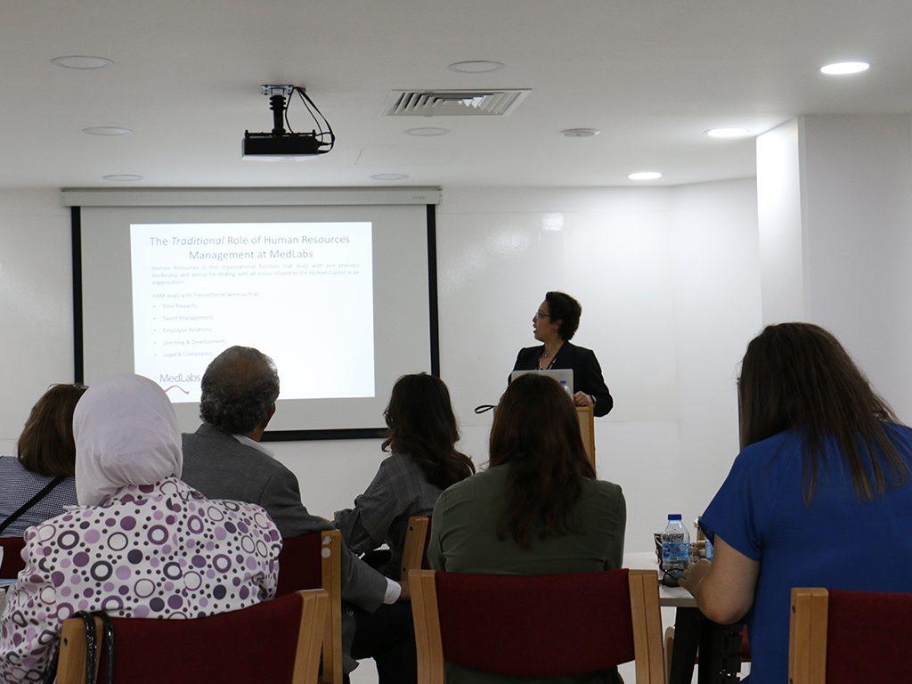 2018 06 26 Amman Manar Nimer Medlabs Community VIVA Presentations 1 Haya