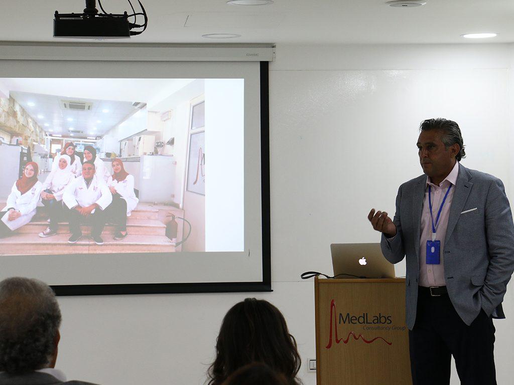 2018 06 26 Amman Manar Nimer Medlabs Community VIVA Presentations 1 Nabil