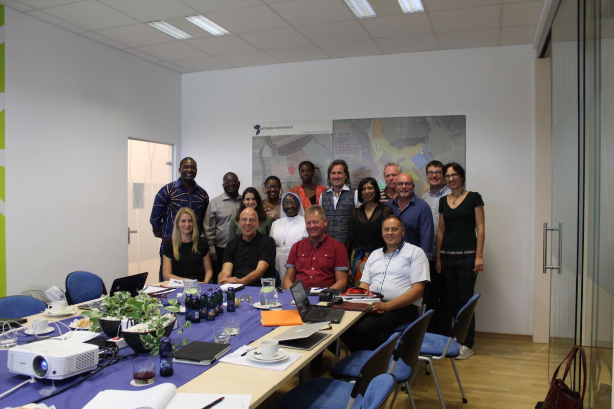 2018 09 11 Slovenia BC Naklo PhD Module Cohort 5 Group With Mayor Naklo BC Naklo Team