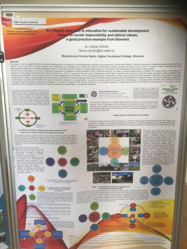 2018 09 11 Slovenia BC Naklo PhD Module Cohort 5 Liliana Poster 2