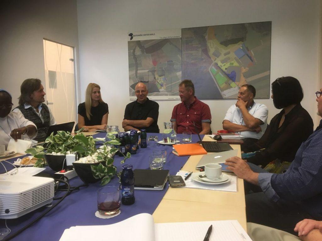 2018 09 11 Slovenia BC Naklo PhD Module Cohort 5 Participants with Mayour Naklo