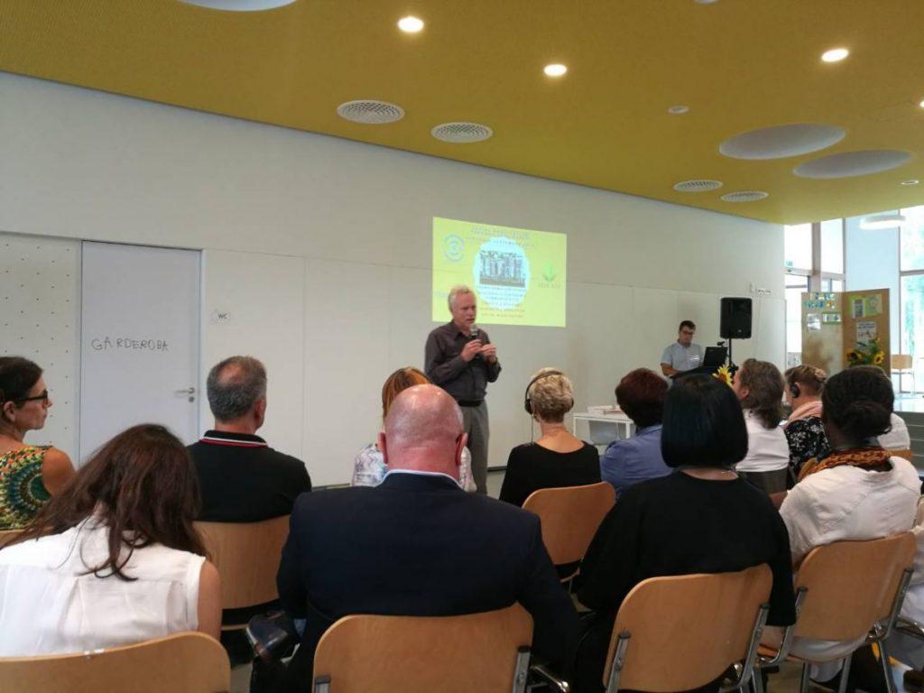 2018 09 13 Slovenia Slovenska Bistrica IGS Conference Ronnie Talk