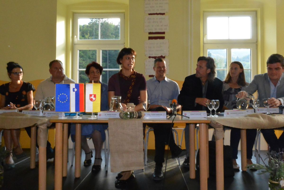 2018 09 14 Slovenia Spitalnic Education Roundtable Panel Picture 1