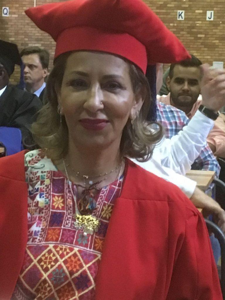2018 09 20 Johannesburg Graduation Max Manar Manar Nimer in Gown 1