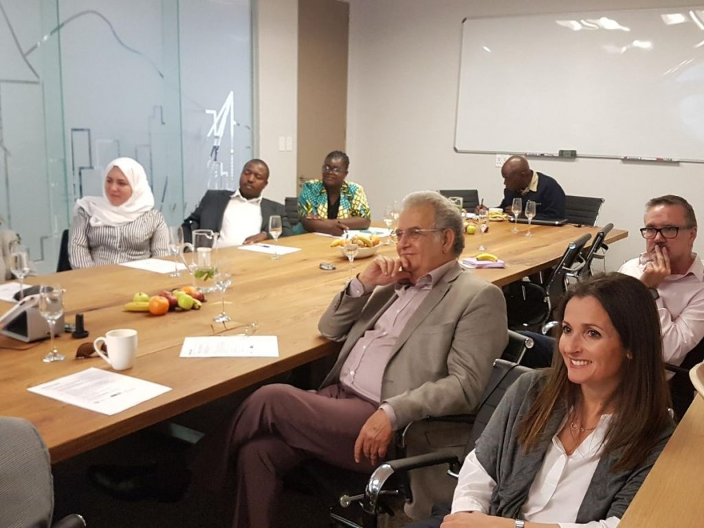 2018 09 21 Johannesburg Integral Enterprise Roundtable Hassib Zeina Frans Reem