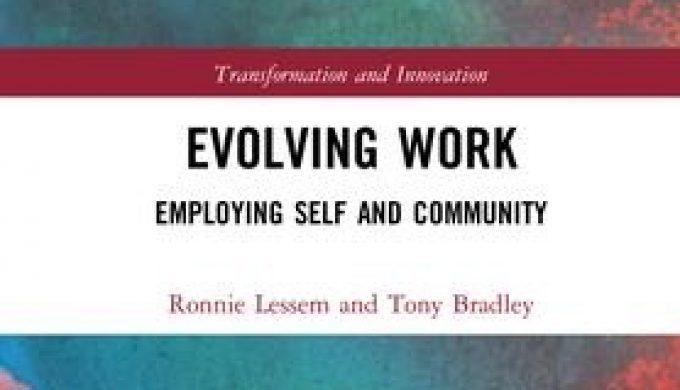 Evolving Work Book Cover Bradley Lessem