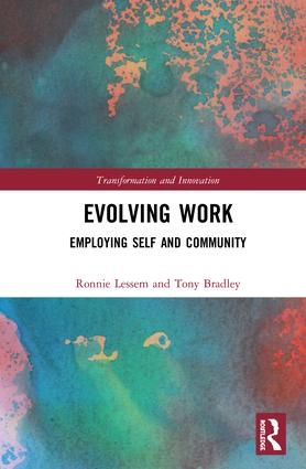 Evolving Work Book Cover Bradley Lessem