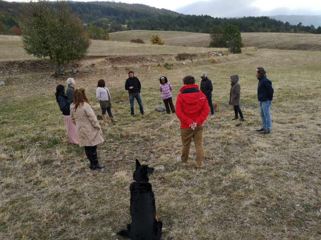 2018 10 05 Trans4m PhD Program Induction Hotonnes - Group Exercise Trois Chats