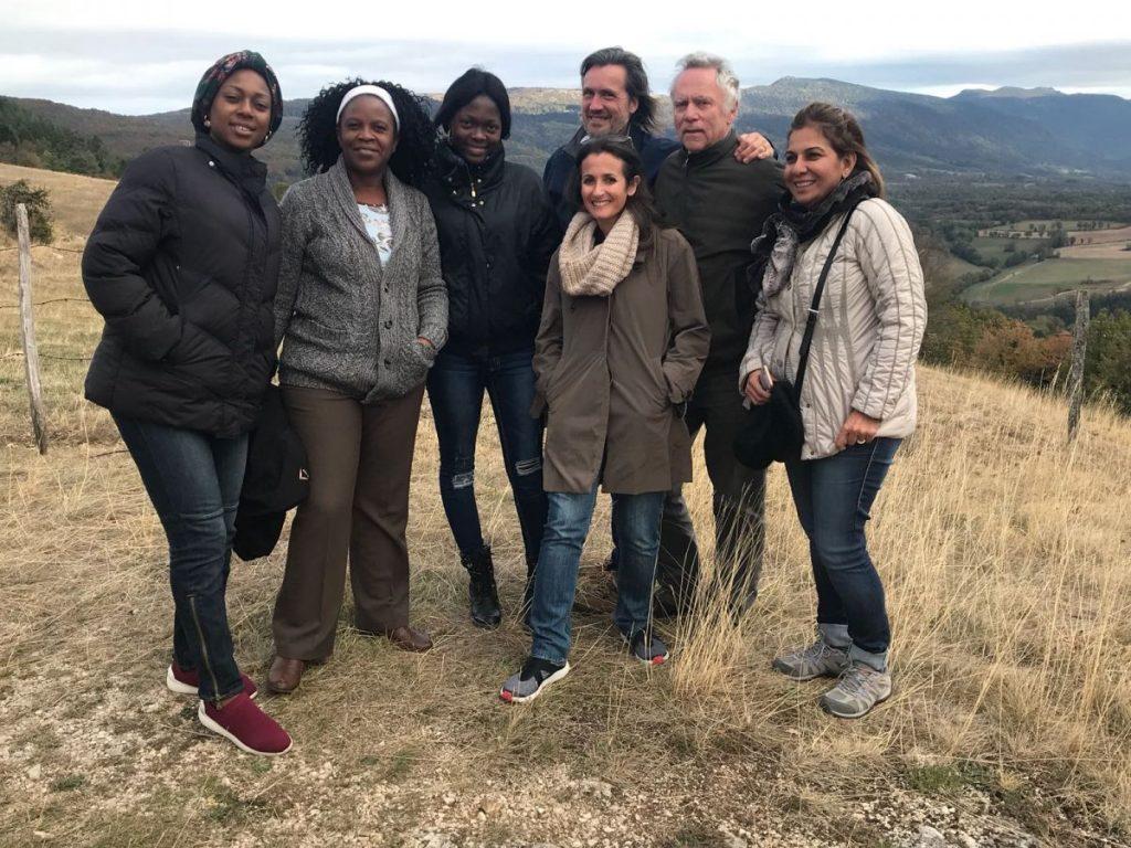 2018 10 05 Trans4m PhD Program Induction Hotonnes - Group Picture Mountain Trois Chats