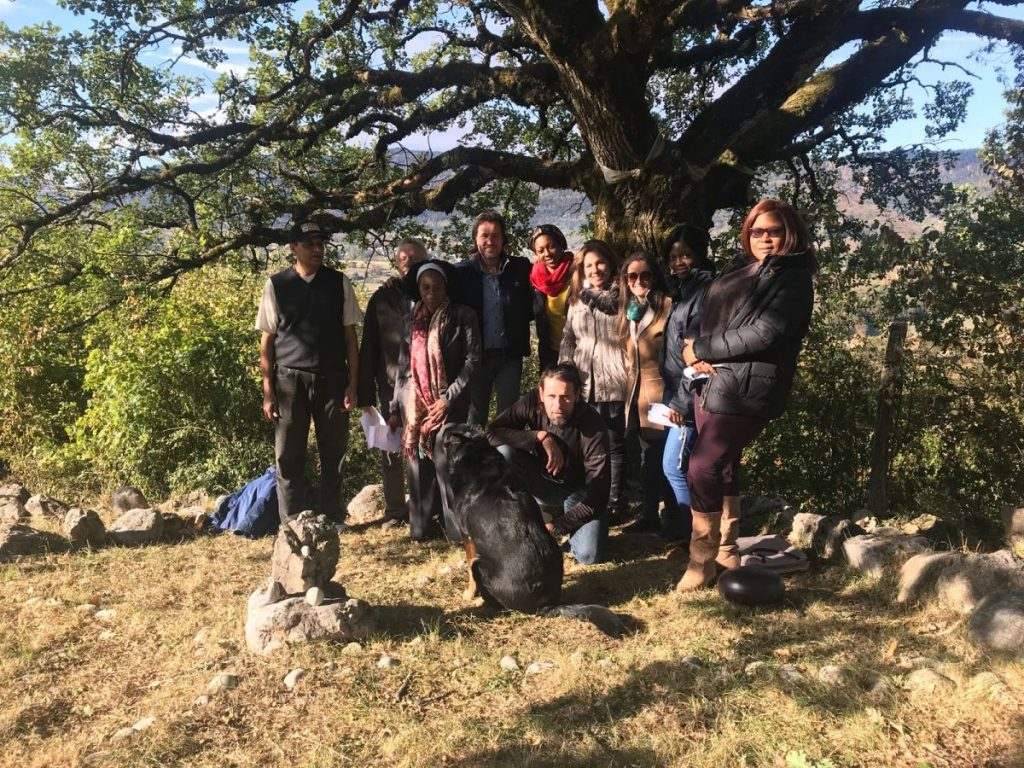 2018 10 05 Trans4m PhD Program Induction Hotonnes - Group Picture at Oak 3