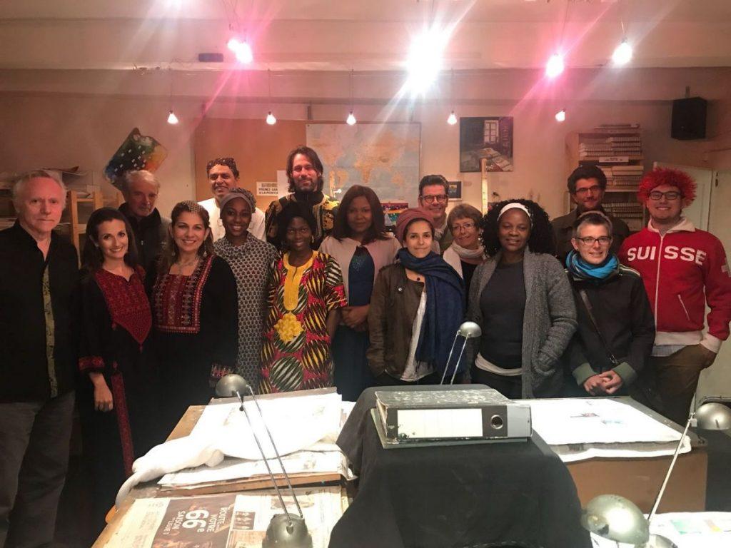 2018 10 05 Trans4m PhD Program Induction Hotonnes - Group in Studio Georges Leble