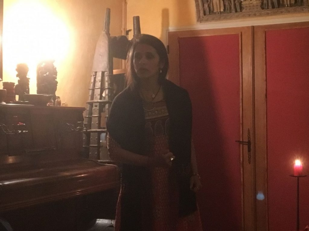 2018 10 05 Trans4m PhD Program Induction Hotonnes - Rama Theatre Performance 2