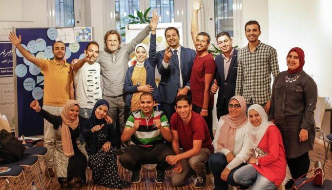 2018 10 20 Cairo Goethe Tahrir Workshop Full Group 1