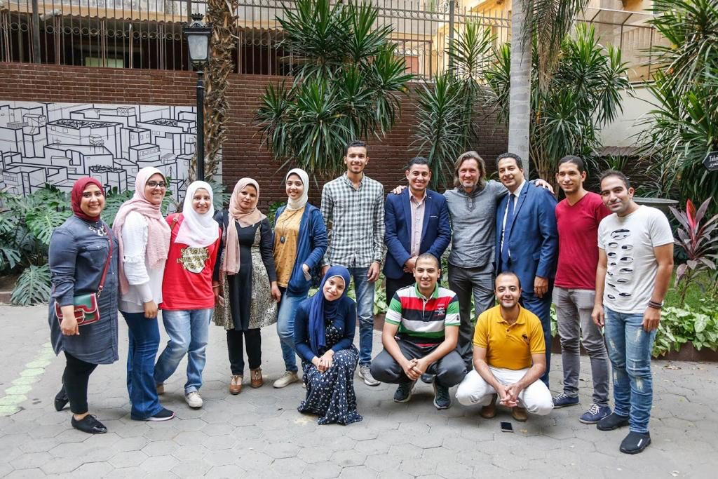 2018 10 20 Cairo Goethe Tahrir Workshop Full Group 2