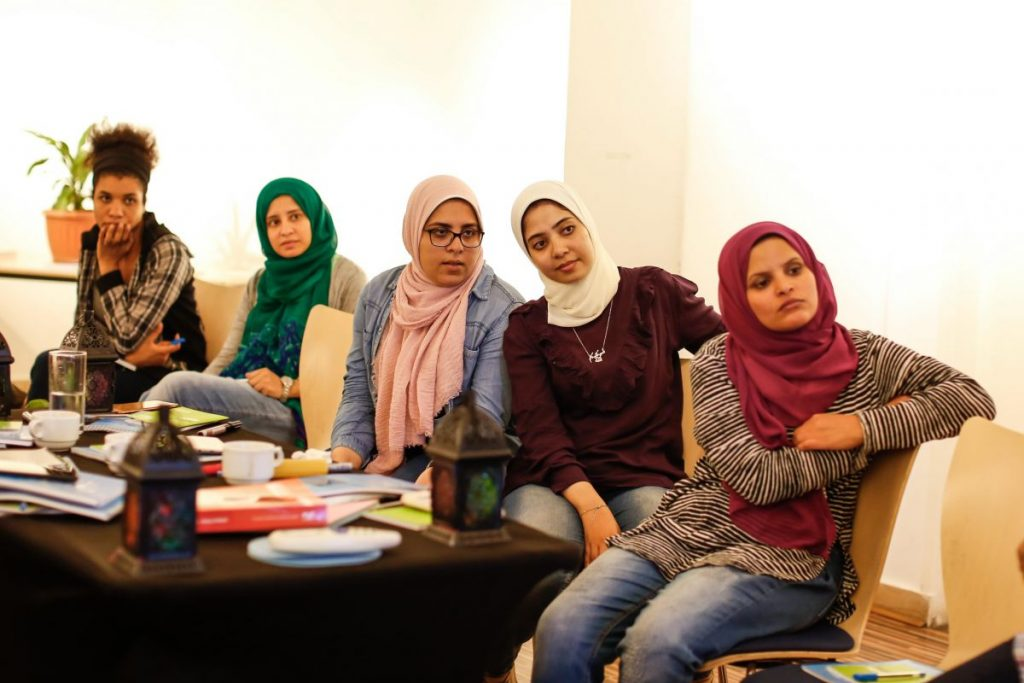 2018 10 20 Cairo Goethe Tahrir Workshop Participants 10