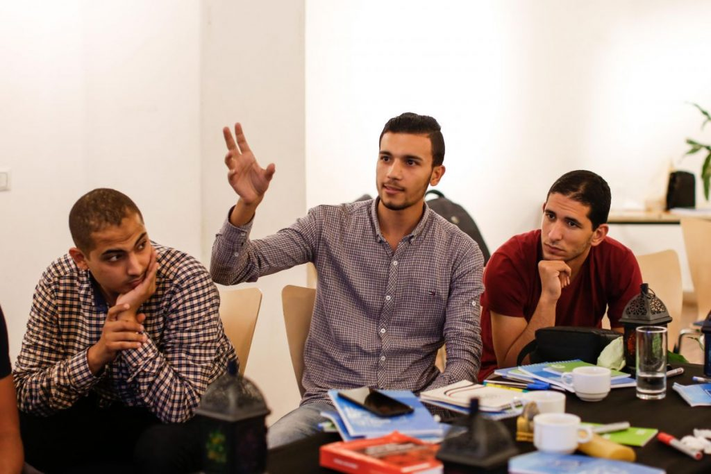 2018 10 20 Cairo Goethe Tahrir Workshop Participants 11